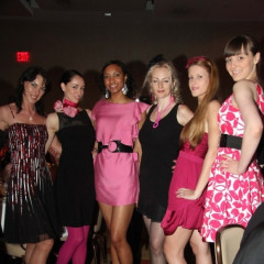 Alex McCord And Stacy London Attend The American Cancer Society's Pink & Black Tie Gala