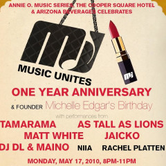 Today's Giveaway: Tickets To Music Unites 1st Anniversary Party!