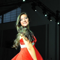 Sashaying Down The Runway For Make-A-Wish