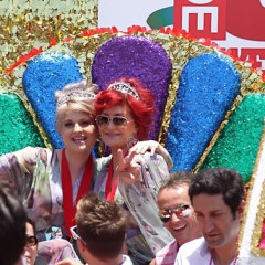 Kelly & Sharon Osbourne Help Celebrate WeHo's Gayest Day Of The Year