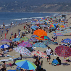 Malibu And The Beaches On The 4th Of July