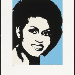 Michelle Obama At The National Portait Gallery