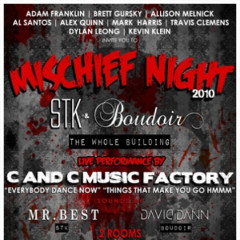 Today's Giveaway: Two Tickets To Mischief Night 2010 With C+C Music Factory!