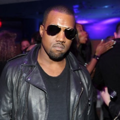 Kanye West Makes It Rain Cash Money At VMan At The Mondrian Hotel