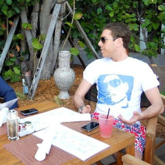 Justin Ross Lee Lunches With Larry David To Discuss His Supposed Cameo On