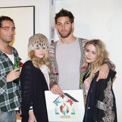 Mary Kate, Russell Simmons, Jeffrey Deitch & More Attend The Clare Rojas Art Opening