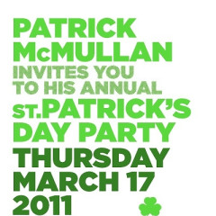 The Official St. Patrick's Day Party Guide 2011