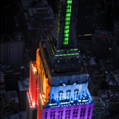 New York State Senate Passes Gay Marriage, Empire State Building Becomes One Big Rainbow