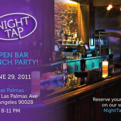 Today's Giveaway: Tickets For You & A Friend To Night Tap's Hollywood Launch Party!