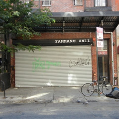 Pepper Spray & Alleged Police Brutality At Tammany Hall
