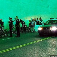 L.A. Drivers Vs. Cyclists: Cops Break Up
