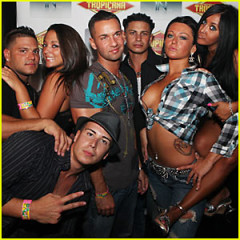 Daily Style Phile: The Hard-Partying Guidos & Guidettes Of Jersey Shore