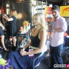 An Inside Look At Fashion Week's Pop-Up Lounges