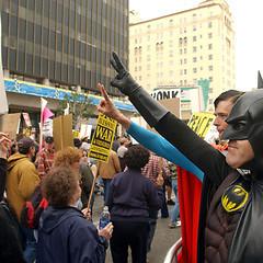 Batman Ready To 'Occupy Wall Street'
