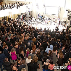 Last Night's Parties: The American Museum Of Natural History And The Guggenheim Gala-ed