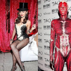 Heidi Klum Vs. Miranda Kerr: Halloween Battle Of The Supermodel Soirees