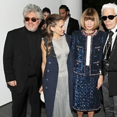 Last Night's Parties: Chanel Honors Pedro Almodovar With Anna Wintour, Sarah Jessica Parker, And Karl Lagerfeld At MoMA