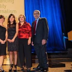 Media Elites Step Out for Annual ICFJ Awards