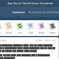 Tumblr Censors Itself In Hopes Americans Will Sign Petition Against Internet Censorship