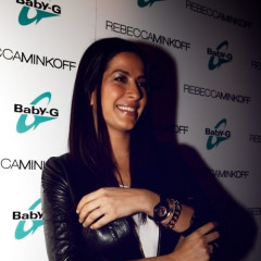Rebecca Minkoff And Baby G-Shock Party