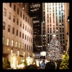 Last Night's Parties: Rockefeller Christmas Tree Lighting, And The Christopher And Dana Reeve Foundation Gala