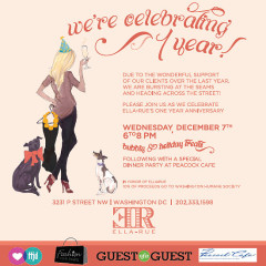 You're Invited: Ella Rue's 1-Year Anniversary At Their New Location