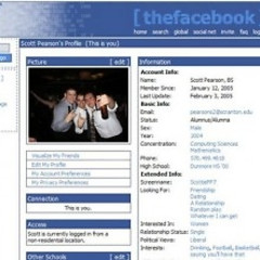 Taking A Stroll Down Memory Lane: What Facebook, Myspace, Google And More Used To Look Like