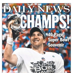 The Giants Win The Super Bowl: A Look At The Front Pages