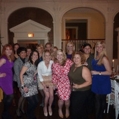 Allison Priebe Brooks Hosts Ladies Dinner Party