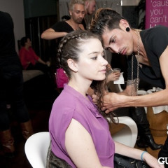 A Look Inside The Refine Mixers and Blo Bar Event At Equinox West Hollywood