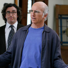 VIDEO: Larry David Trapped, Yelling At Strangers In A Santa Monica Parking Garage