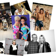 Today In Fashion News: Remember When Karl Lagerfeld Was Chunky?, Pope Cologne, Kate Moss + Uncle Terry & More!