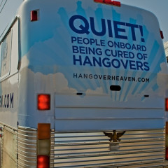 Hangover Heaven: Bus Offers Bliss For Las Vegas Blitzed