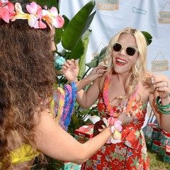 Last Night's Parties: Julie Bowen, Busy Philipps Have A Mommy & Me Luau, Kim Kardashian Steps Out For Clean Water & More