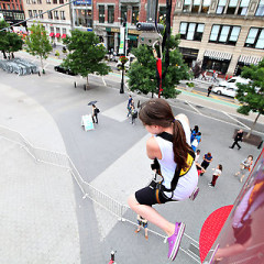 Taking NYC To New Heights At Summer Streets Pedestrian-Fest