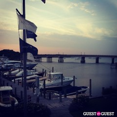 Summer Photo Of The Day: Another Gorgeous Sunset Over The Sag Harbor Bridge