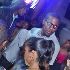 NBA All-Star Kevin Durant At Eden Last Night