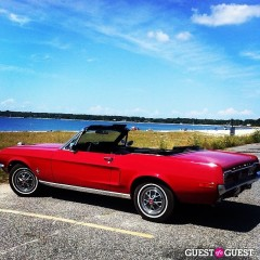 Hamptons Car Of The Day: Even Mustangs Need Beach Days Every Now And Then