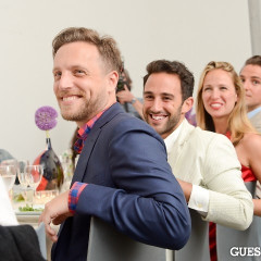 ACRIA's Cocktails At Sunset, Plus An Intimate Dinner Hosted By Ross Bleckner