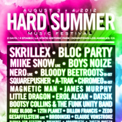 We're Giving Away A Pair Of HARD Summer Tickets!!!