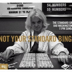 Why We Love Bingo At The Standard Grill