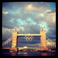 Photo Of The Day: London Gears Up For The 2012 Summer Olympics