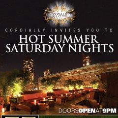 You're Invited: Hot Summer Saturday Nights At The Empire Hotel Rooftop