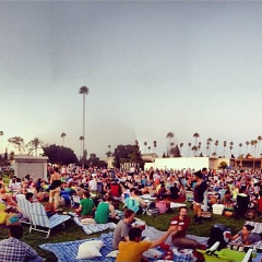 Summer Photo Of The Day: A Slumber Party In Hollywood Forever Cemetery