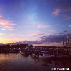 Summer Photo Of The Day: Dramatic Sunset Over Sag Harbor