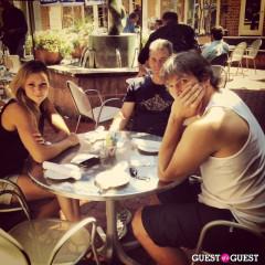 'Marovie' Spotted At Kafe Leopold