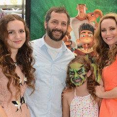 Last Night's Parties: Leslie Mann, Judd Apatow Hit The 'ParaNorman' Premiere, And Kellan Lutz Helps Launch Zooka