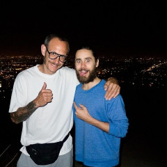In Which Terry Richardson, Jared Leto & Some Horse Do A Runyon Night Hike