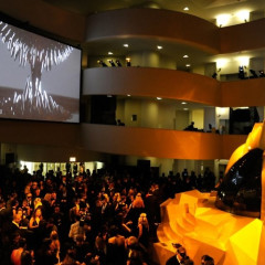 Last Night's Parties: NYFW Wraps Up With Lady Gaga's Fame Launch At Guggenheim, And Calvin Klein's Beatrice Inn Dinner