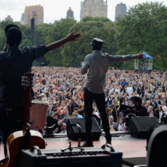 John Legend And The Black Keys Perform At The Global Citizen Festival